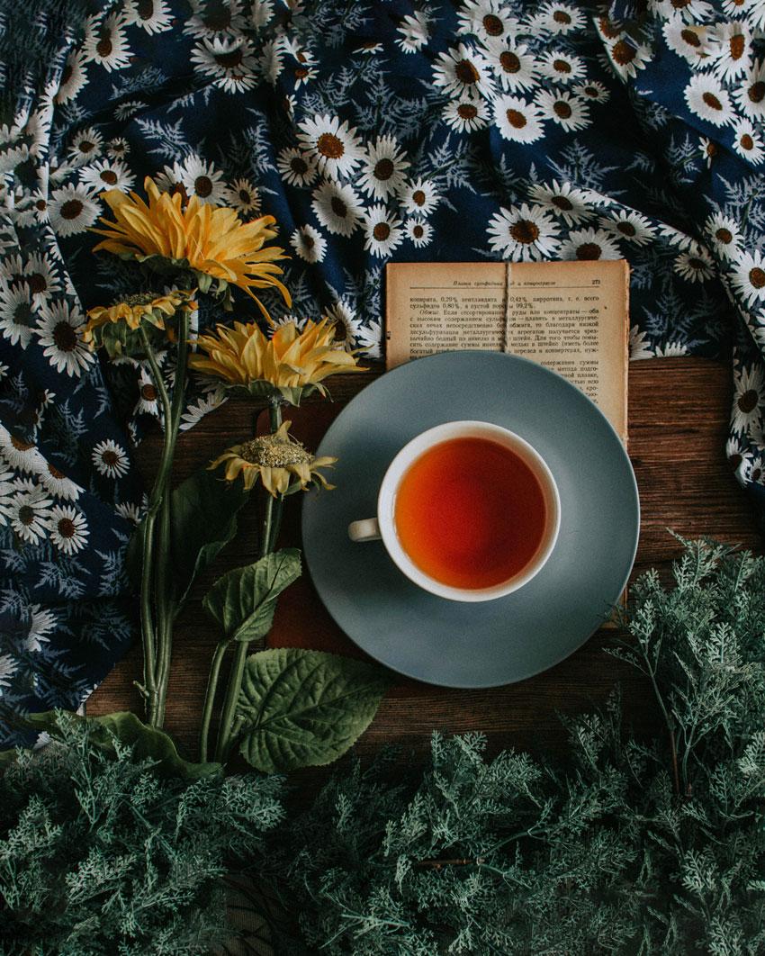 2. Enjoy an Herbal Tea