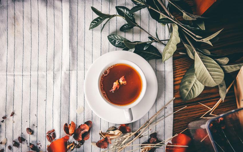 Enjoy a Hot Cup of Tulsi Tea