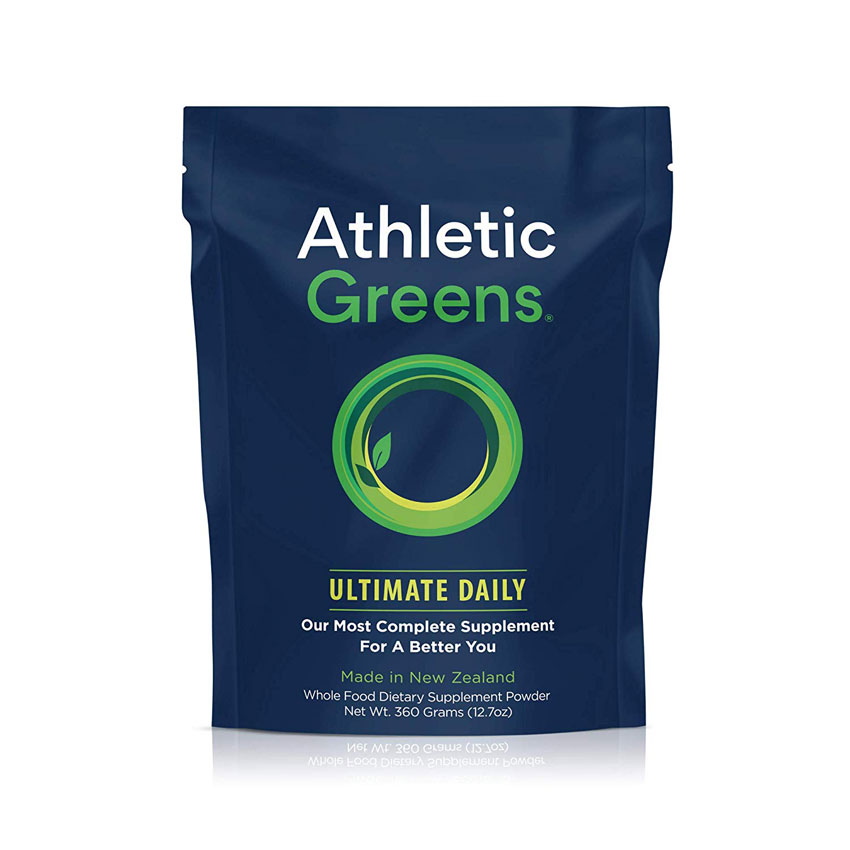 5. Try Athletic Greens