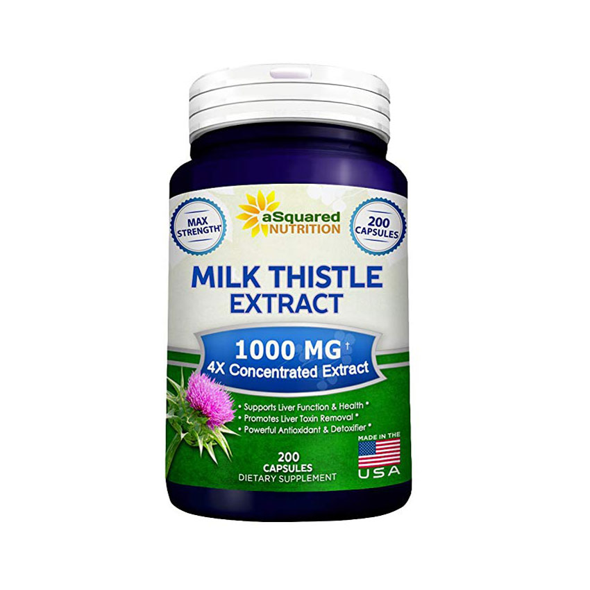 Pure Milk Thistle Supplement 1000mg